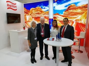 Helion successfully presents at EMO 2019